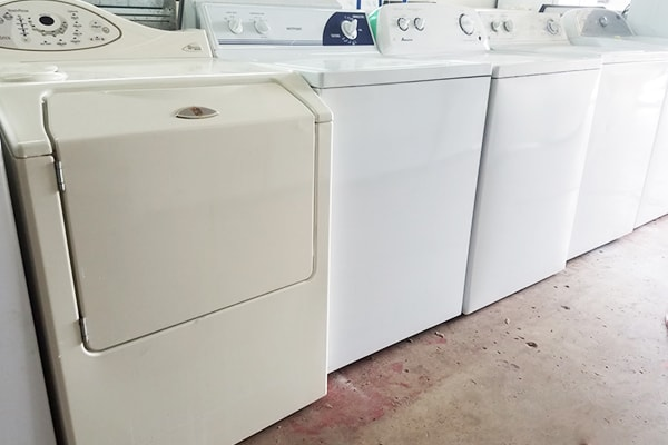 used top load washers and dryers