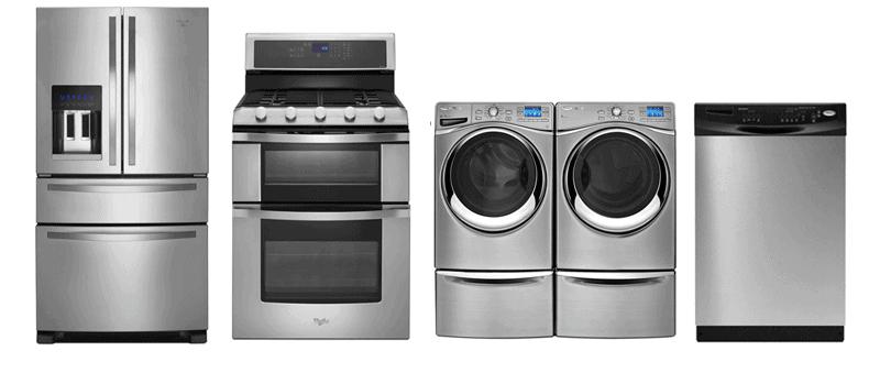 whirlpool used appliances