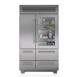 sub zero freestanding refrigerator