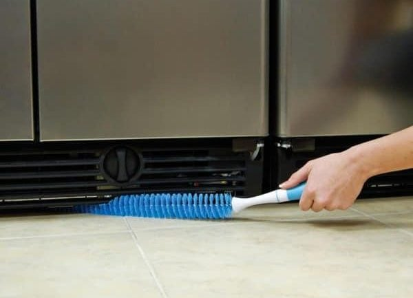 refrigerator coil cleaning brush