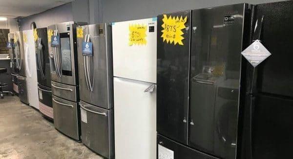 open box appliance store